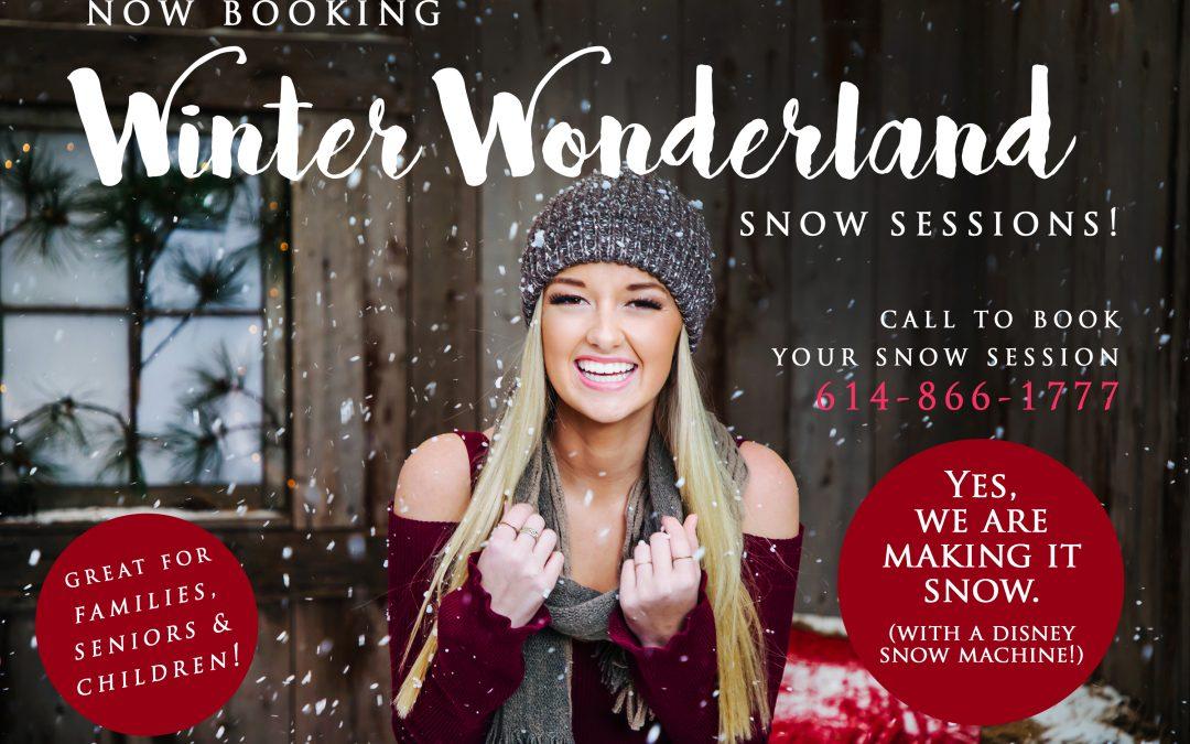 Winter Wonderland Snow Shoot!
